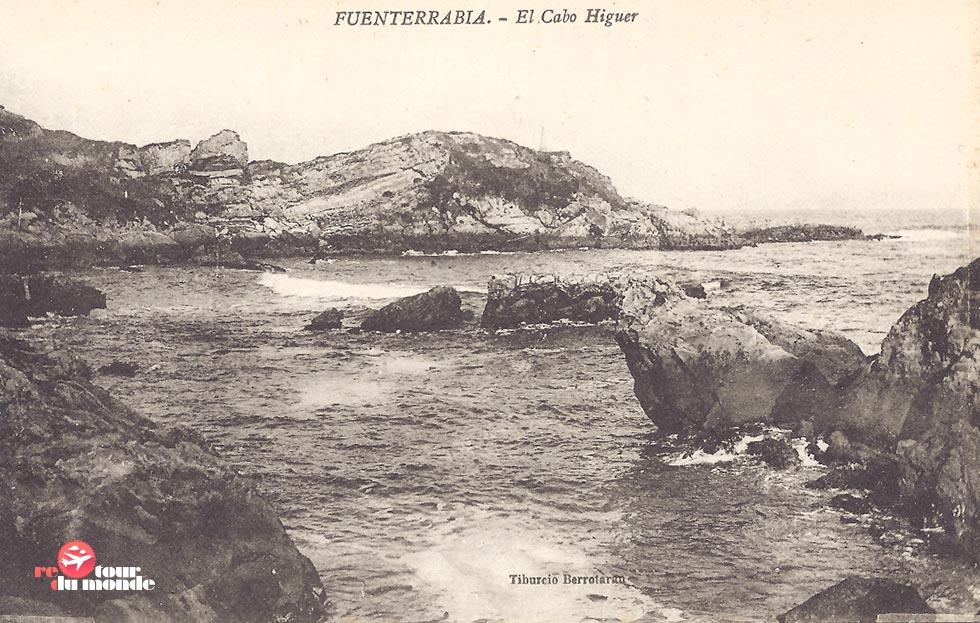 Au loin la silhouette de Cabo Higuer